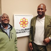 Lamech Katamba and Jean Leonard Ngabo in our Sacramento, California office.