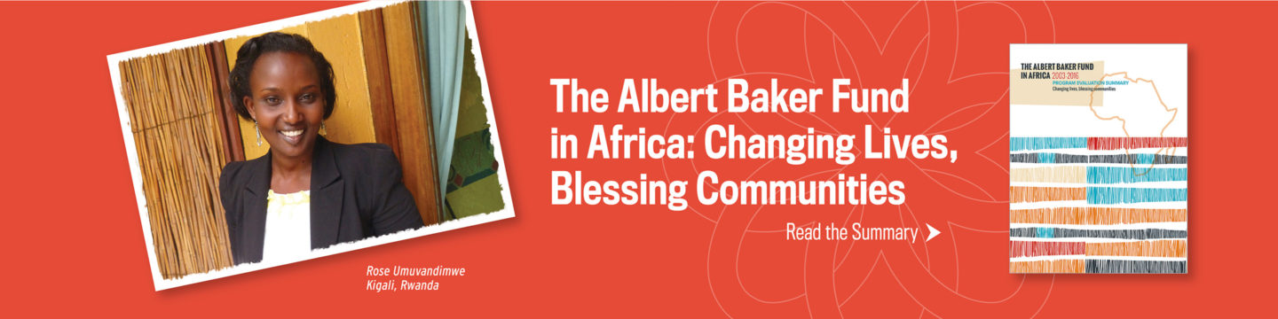 Albert Baker Fund Africa Report