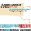 Albert Baker Fund in Africa 2003-2016